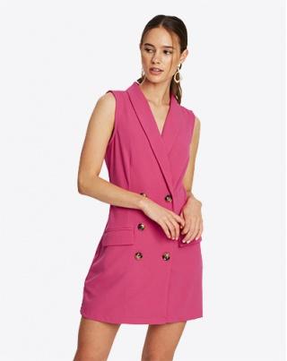 Twist Matte Jersey Dress